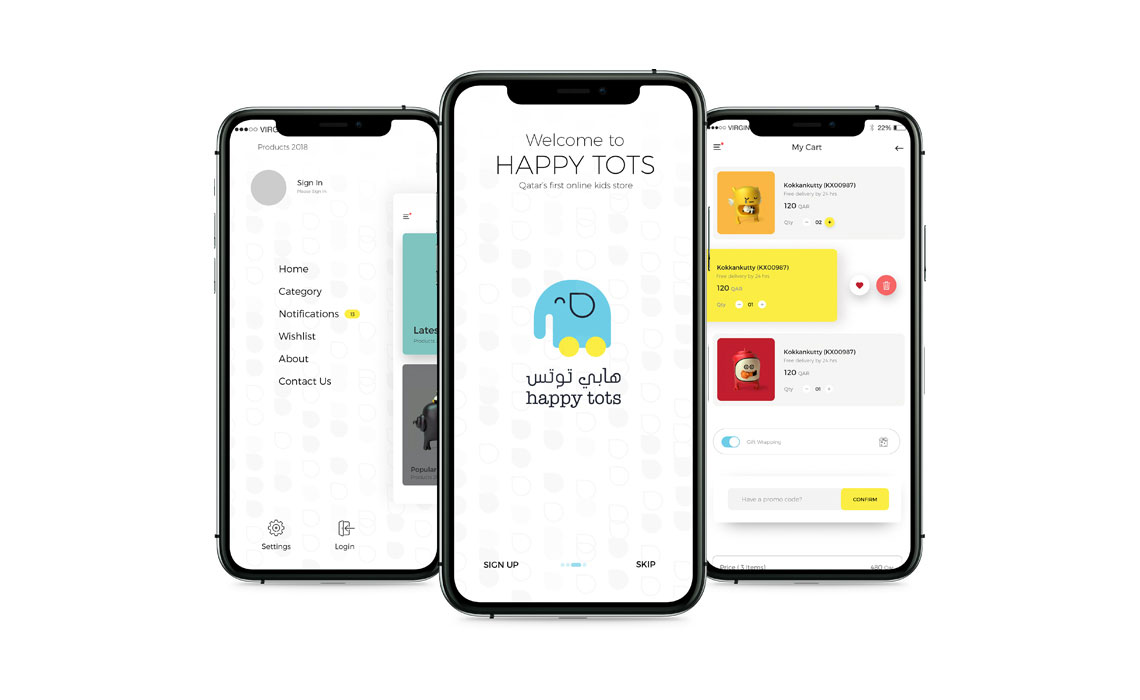 Mobile Application for Happytots