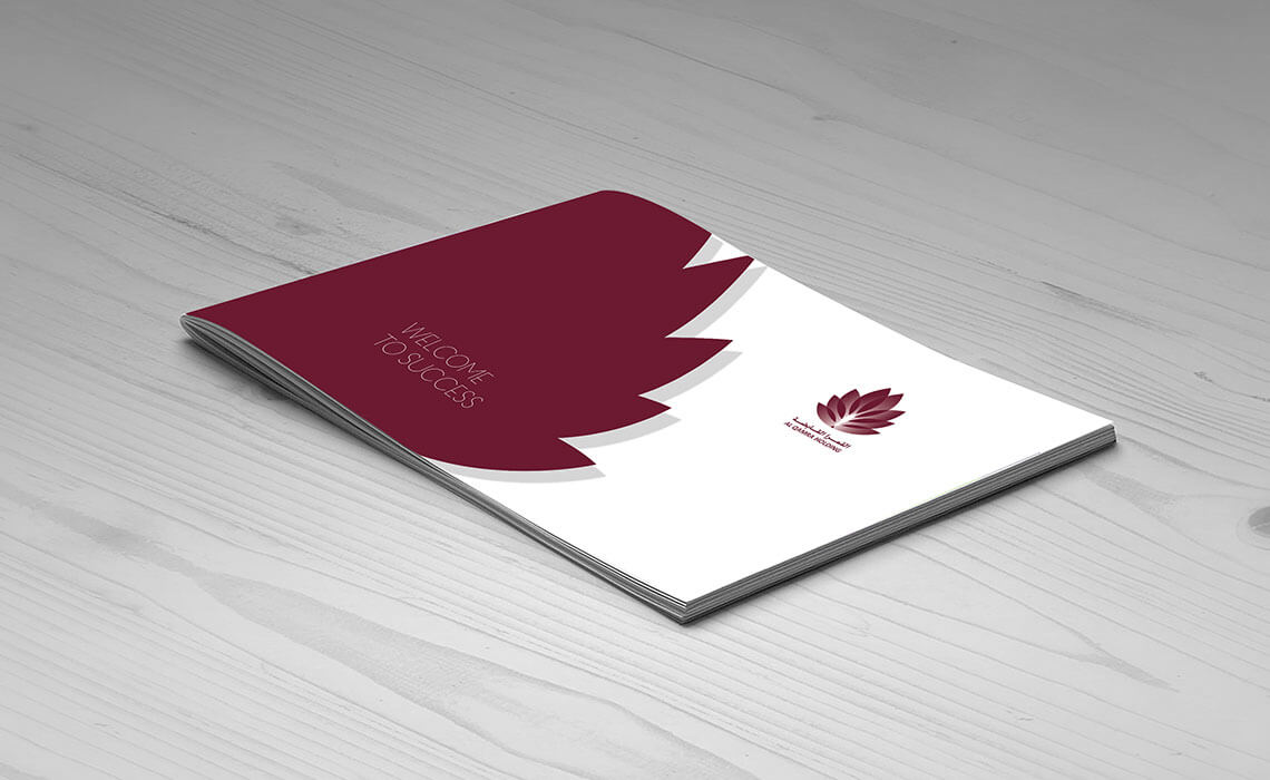 business branding ideas for Alqamra Holding