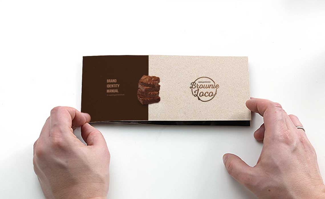 brand design for BrownieLoco