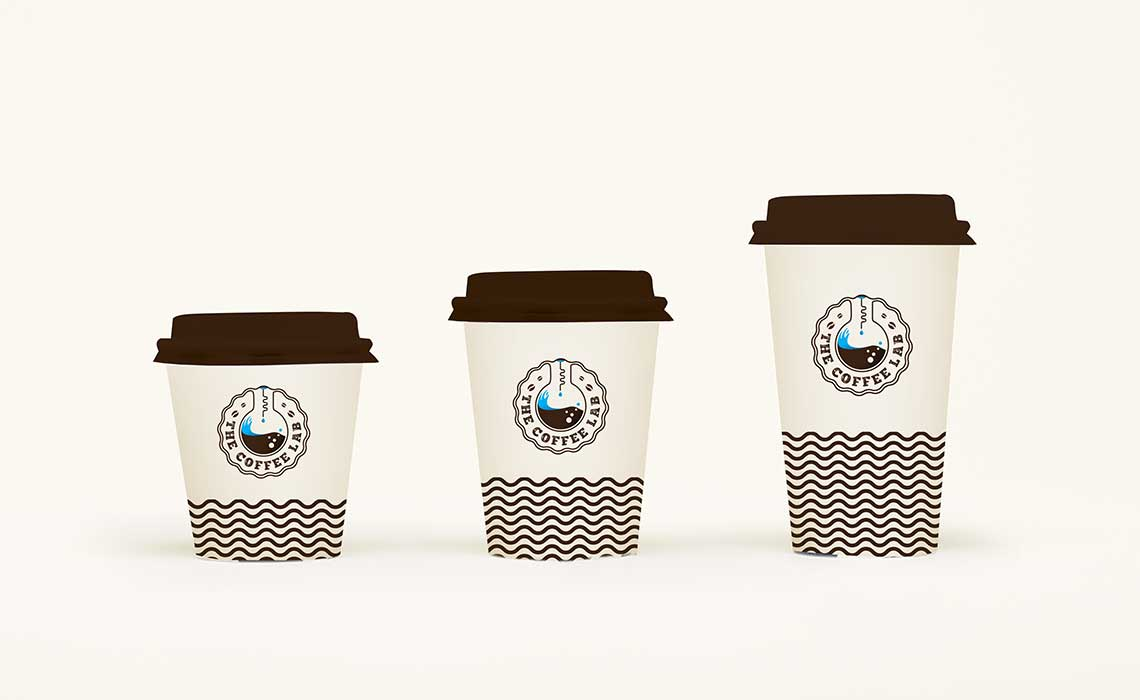 brand design for Coffee Lab