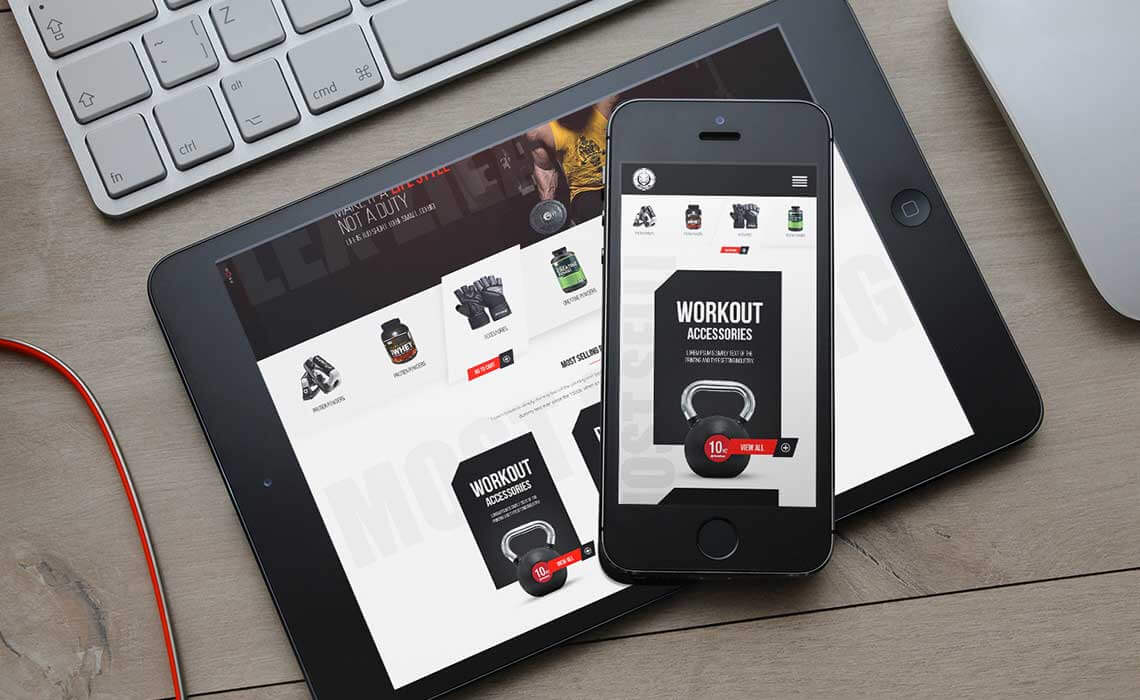 cross platform ecommerce website design and development for business