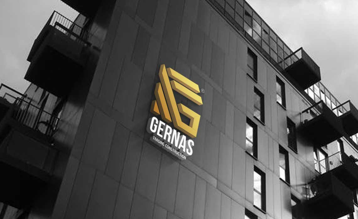 Whyte Creations | Gernas Trading Qatar Logo design and