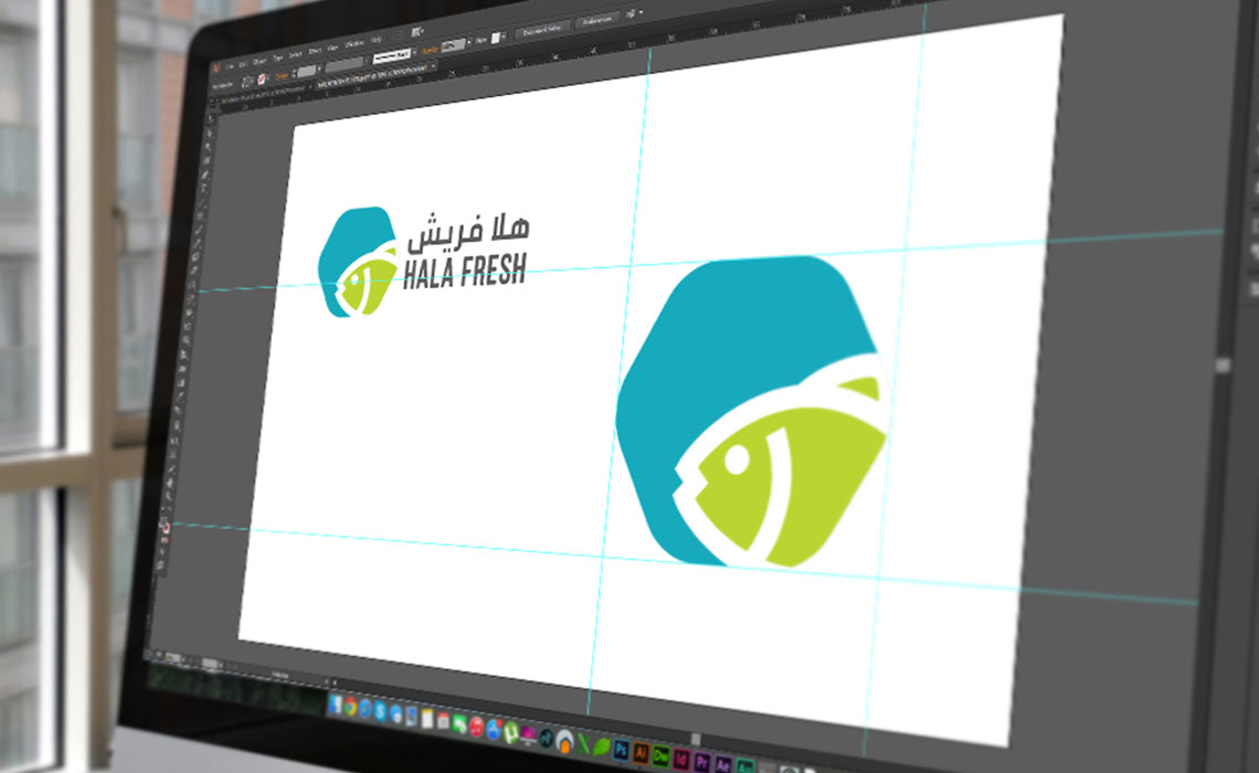 brand design for Hala Fresh
