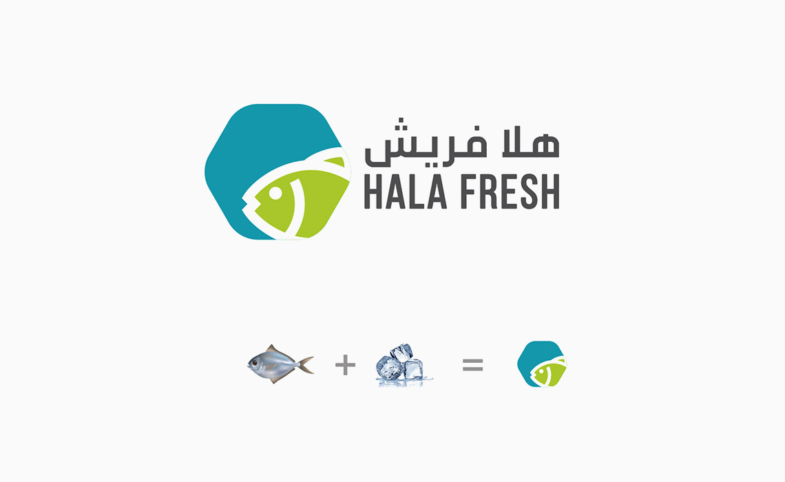 design a logo for Hala Fresh
