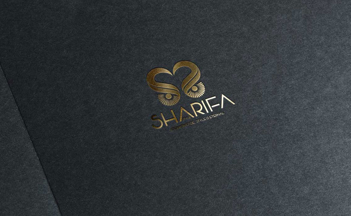 professional logo design for Sherifa Style